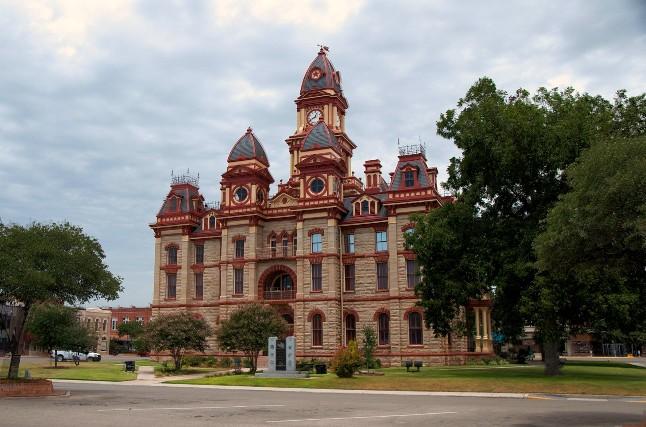 Lockhart Texas Courthouse