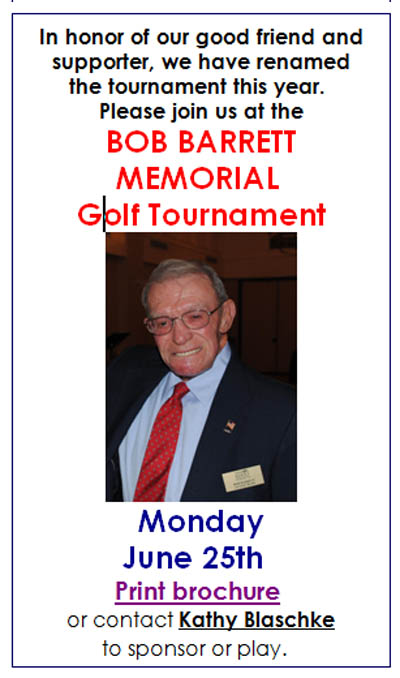 Bob Barrett Memorial Golf Tournament 2012