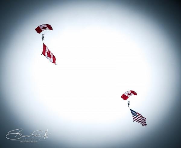 Candian Skyhawks 1 © Copyright, 2012, Robert Barrett