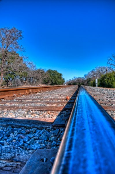 Blue Rail © 2010, Robert Barrett