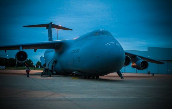 C-5A Galaxy, © copyright 2012, Robert Barrett